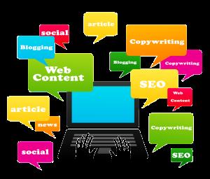 contenidos web para blogs y tiendas